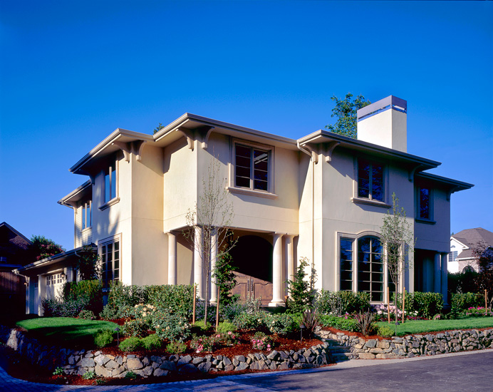 Inspiring mediterranean stucco homes 8 photo home plans for Mediterranean stucco